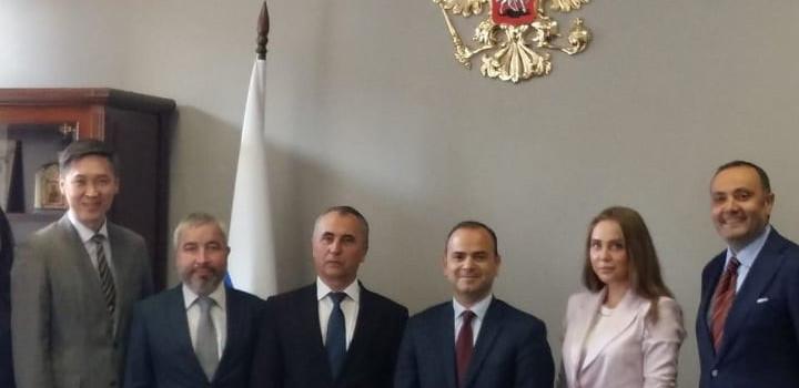 Զարեհ Սինանյանը հանդիպել է Ռուսաստանի ազգությունների գործերի դաշնային գործակալության ղեկավարի տեղակալի հետ