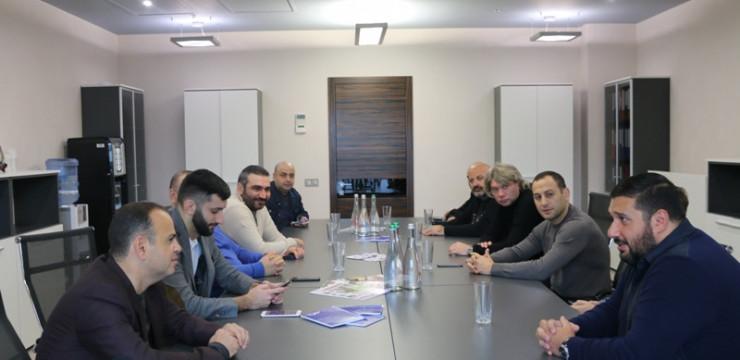Ուկրաինայի հայ համայնքի հետ աշխատանքը՝ նոր հարթության վրա