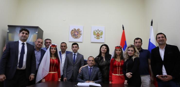Ռուսաստանում շարունակվում են Զարեհ Սինանյանի  հանդիպումները