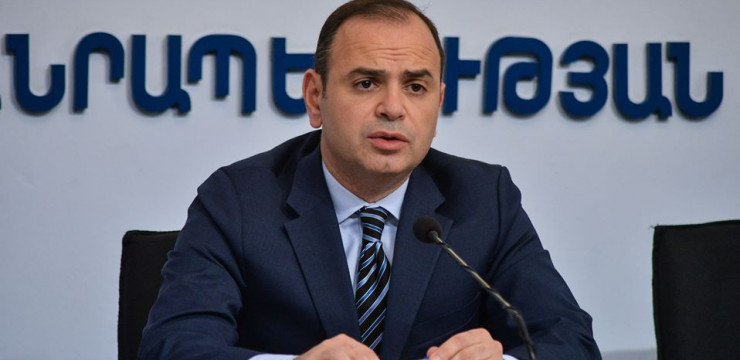 Press Conference with High Commissioner Zareh Sinanyan