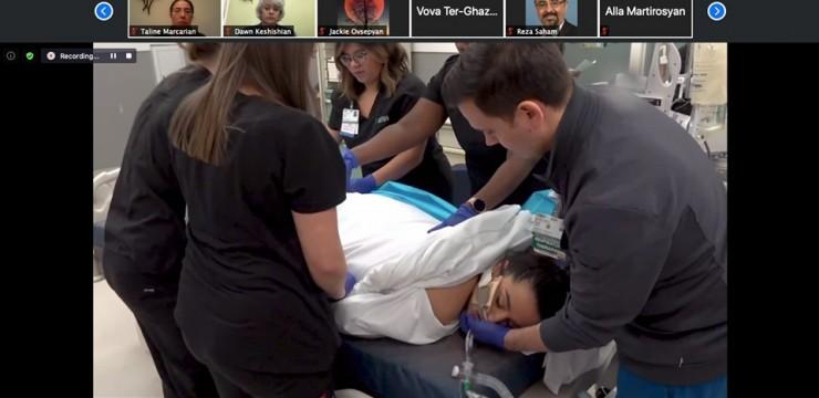 Հայաստանի և սփյուռքի բուժաշխատողները համատեղել են ջանքերը՝ հաղթահարելու կորոնավիրուսի դեմ պայքարը