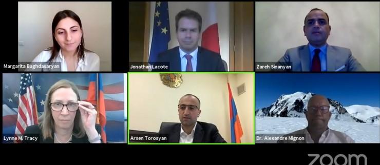 Հայաստանում կորոնավիրուսի դեմ պայքարում սփյուռքի և միջազգային համագործակցության միջոցառումները