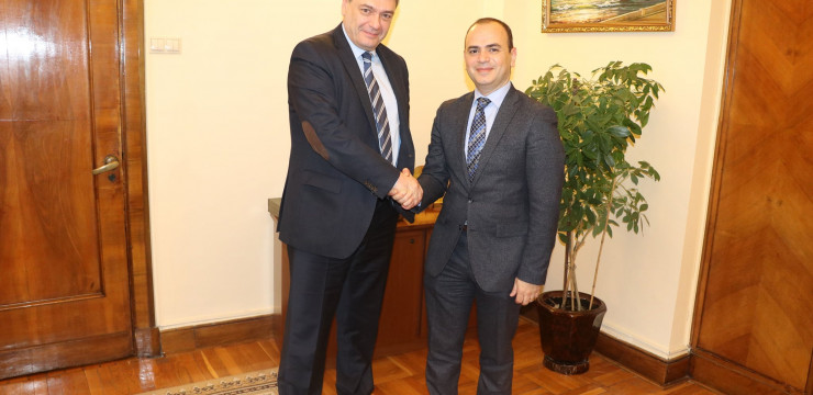 Meeting with Deputy Foreign Minister of the Russian Federation, Andrey Rudenko