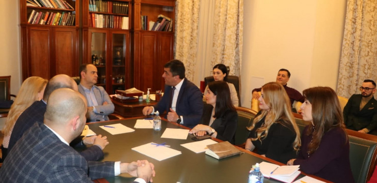 High Commissioner met with members of the Armenian Lawyers Association in Moscow