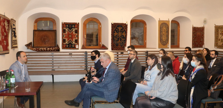 High Commissioner had an open-door meeting with representatives of the Armenian community