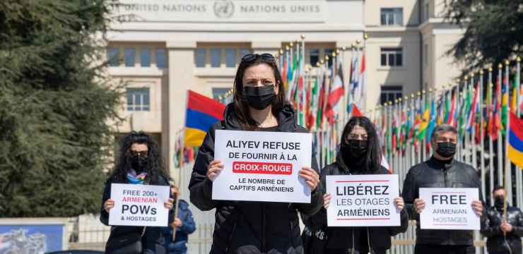 Լուռ գլոբալ ակցիա #FreeArmenianPOWs
