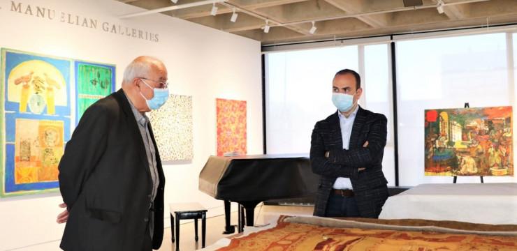Բոստոնում Զարեհ Սինանյանն այցելեց Ամերիկայի հայկական թանգարան