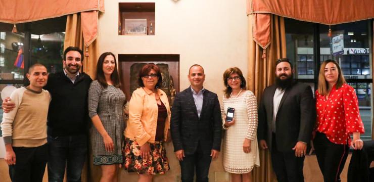 Զարեհ Սինանյանը հանդիպել է AMIC-ի անդամների հետ