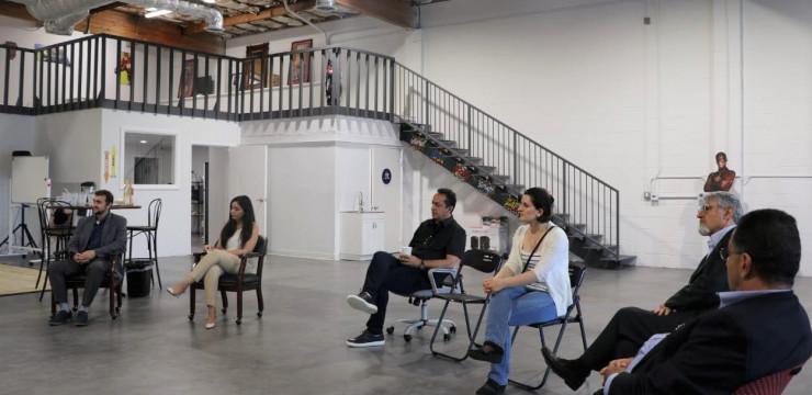 Զարեհ Սինանյանը Hero House կենտրոնում հանդիպում ունեցավ Ամերիկայի հայ ճարտարագետների և գիտնականների ընկերակցության անդամների հետ