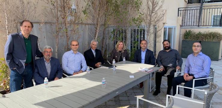 Զարեհ Սինանյանը հանդիպեց «Analysis Research & Planning For Armenia» (ARPA) ինստիտուտի և HyeID նախաձեռնության ներկայացուցիչների հետ