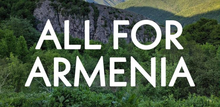 Հայրենադարձների և կամավորների  All for Armenia նախաձեռնության մասին
