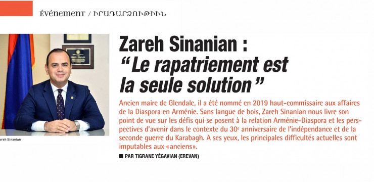 France Arménie's Interview with the High Commissioner and iGorts Program Director