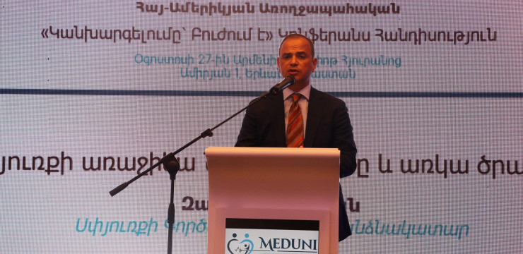 Diaspora Armenian doctors at the forefront of Armenia's healthcare system