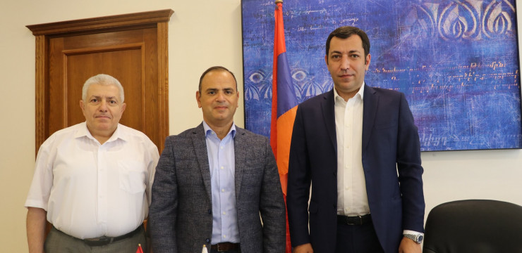 Our Office and Association of Armenian Lawyers in Russia Sign MOC