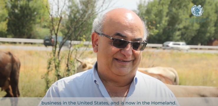 Սփյուռքահայ գործարար Ռազմիկ Գրիգորյանը ներդրում է կատարել և հիմնել այգիներ