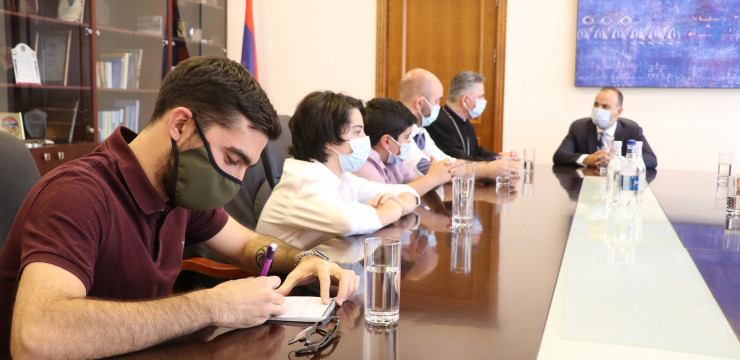 Citizenship, Programs and More Discussed with Brazilian-Armenian Compatriots