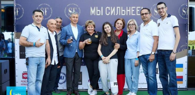 "High Commissioner Attends ""Stronger Together"" Event in Ukraine"