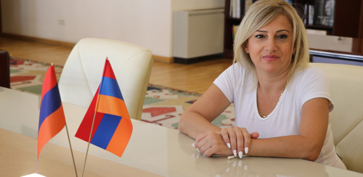 High Commissioner and Office Welcome Maral Najarian Home