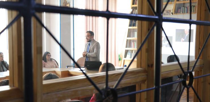 iGorts Fellow Conducts Seminar