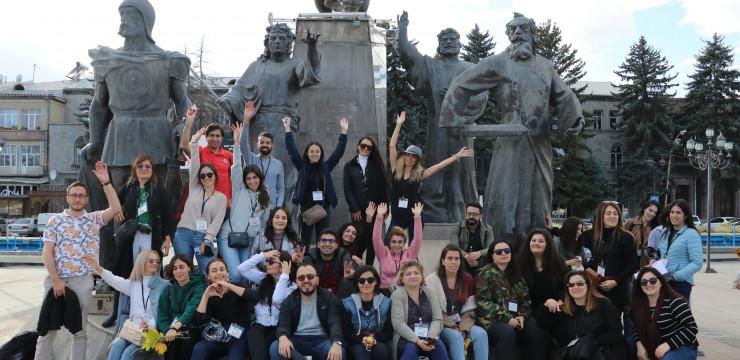 iGorts Participants Visit Gyumri