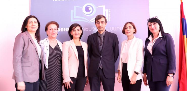 Serine Avetisyan began working at the RA Education Inspectorate