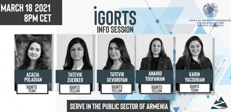 Инфо сессия для программы «иГорц»